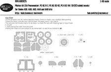 New Ware Mask NWAM0625 1/48 Pilatus AU-23A Peacemaker BASIC Roden