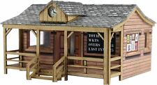 METCALFE PN821 1:148 N SCALE Wooden Pavilion Pre-Cut Card and Wood Kit