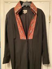 Elvis Black Tapestry Jumpsuit No Belt