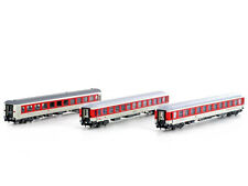 LS 79011 - 3-tlg. Set Bvcmz/WRm, weiß/rot DB Nachtzug CNL Ep.V/VI - Spur N - NEU