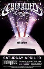 "CHROMEO/TOKiMONSTA ""COME ALIVE TOUR"" 2014 PHOENIX CONCERT POSTER - Electro-funk"