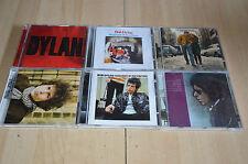 lot 6 albums CD BOB DYLAN - Freewheelin, Highway 61, Blood on the tracks...