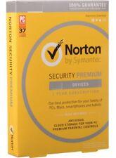Antivirus Norton Security Premium 2020  3 devices/1 year Global Region