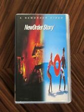 Rare Collectable 1993 New Order Story VHS Video - Kevin Hewitt & Paul Morley