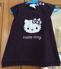 Baby Girls h&m violet Hello Kitty Robe taille 4-6 mois