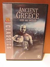 HISTORY Classics: Ancient Greece: Gods and Battles DVD Set FREE SHIPPING