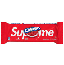 Supreme®/OREO Cookies ORDER SHIPPED 1 Pack of 3 Cookies FREE SHIPPING