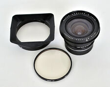 Leica 21mm f/4 Super-Angulon-R Lens, with hood and filter, very good condition
