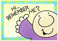 Vintage Postcard Ziggy Artist Tom Wilson HI... Remember Me?
