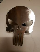Punisher Skull Receiver Hitch Cover - Steel - Reese towing tow boat