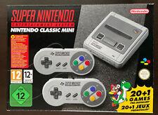 Nintendo Classic Mini SNES ungeöffnet
