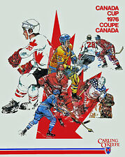 Canada Cup 1976 Pronmotional Poster, 8x10 color photo