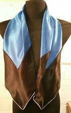 Elvis Presley BLUE Conference suit  scarf .see other scarves in our shop cossack