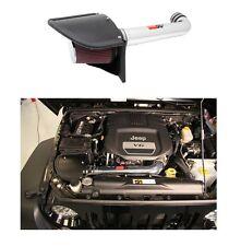K&N 77 Series High Flow Intake Kit for Jeep Wrangler JK w/ 3.6L V6, 77-1566KP
