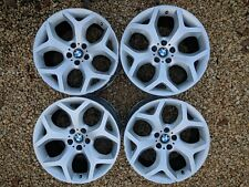 """Genuine BMW X5 / X6 20"""" Y spoke alloys: E71, E70, X5M, E71, X6M need refurb."""