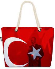 Türkei Atatürk Beach Bag Türke Mustafa Kemal Kasim 10 Nationalflagge Flagge