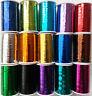 Lurex Ricamo Filo Metallico Scegliere qualsiasi Colore 2500 Metri COMPRA 3 &
