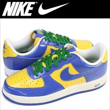 NIKE AIR FORCE 1 PRM BRAZIL WORLD CUP Neymar Blue Yellow Green White Men 9 Shoes