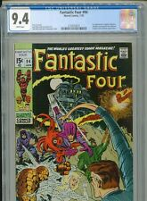 1970 MARVEL FANTASTIC FOUR #94 1ST APPEARANCE AGATHA HARKNESS CGC 9.4 WHITE BOX6