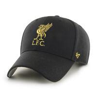 Liverpool FC Basecap Cap Baseball Cap MVP Metallic Black Lfc Epl 194165409706