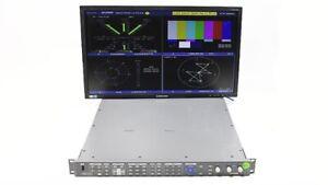 Harris Videotek VTM-4100 PKG Waveform Vector Monitor Opt 10 SD HD A3-OPT-5