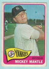 1965 Topps #350, Mickey Mantle, New York Yankees