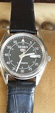 RAILWAY TIME SEIKO 5 AUTOMATIC  COLOR DIAL MEN S WRIST WATCH WORKING