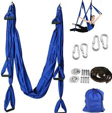 Yoga Hängematte Set Aerial Yoga Swing Schaukel Air Fliegen Anti Gravity Yogatuch