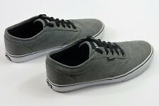 VANS Atwood Classic Canvas TC9R Charcoal Lace Up Men's Shoes Size 8 Sneakers
