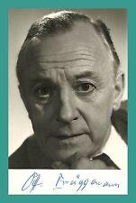 OTTO BRÜGGEMANN | Schauspieler | Original-Autogramm auf Postkarte