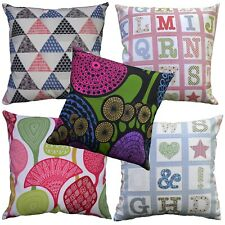 Pillow Cover*A-Grade Cotton Canvas Sofa Seat Pad Cushion Case Custom Size*LL6