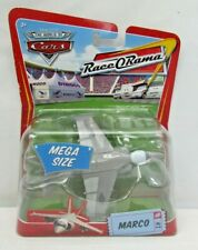Disney Pixar Cars Movie Deluxe Marco Jet Toy Vehicle Race O Rama