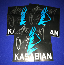 9c2187f4b05 HAND SIGNED Kasabian ST CD BOOKLET ONLY autograph 3 members