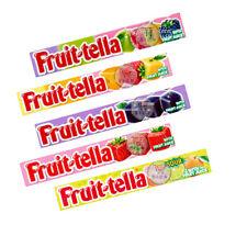 Full Box of Fruit-Tella avec jus de fruits Moelleux Bonbons (4 parfums) Fraise
