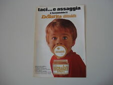 advertising Pubblicità 1969 DOLCE DI LATTE DOLAT ITA