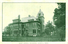 Geneva,OH. A 1911 View of the High School Building