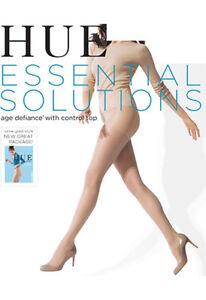 HUE Women's Sheer Age Defiance Pantyhose Style 5992