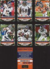 LOT OF 3 - 2013 DENVER BRONCOS STADIUM GIVEAWAY CARDS SEALED PACKS W/ MANNING