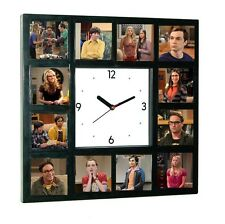 The Big Bang Theory Leonard Penny Sheldon Raj Amy Howard Clock 12 pictures