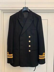 Never Worn Royal Navy Number 1 Officer Uniform Turner Virr - 38 Chest 32/30