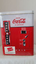 9004 Coke Vending Machine Vintage Tin