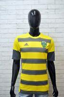 Maglia ADIDAS Uomo Taglia S Maglietta Shirt T-Shirt Polo Cotone Jersey Sport