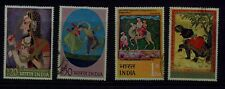 India 1973 Miniature Paintings set Used