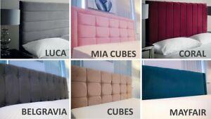 """Lavishing 4ft & 4.6ft - Size Cheapest & Best Divan Bed Headboard Designer  24"""""""
