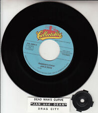 "JAN AND DEAN Deadman's Curve & Drag City 7"" 45 record NEW + juke box title strip"