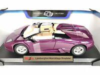 Maisto Lamborghini Murcielago Roadster Purple 1:18 Scale Special Edition