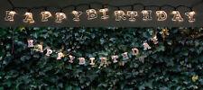 LED Solar-Lichterkette mit 55 Buchstaben Weihnachten Geburtstag Lichtschlauch
