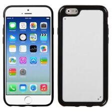 Fundas y carcasas transparentes Para iPhone 6 color principal negro para teléfonos móviles y PDAs