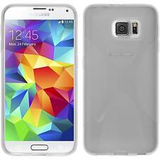 Coque en Silicone Samsung Galaxy S6 - X-Style transparent + films de protection