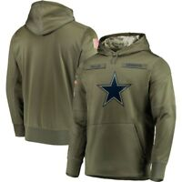 2019 NFL Dallas Cowboys Hooded Sweater Thicken Unisex Football Training Hoodie